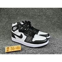 Women's and Men's NIKE Air Jordan 1 generation high basketball shoes  006