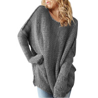 Loose Long Sleeve Oversize Cozy Sweater