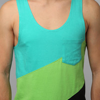 BDG Diagonal-Stripe Tank Top