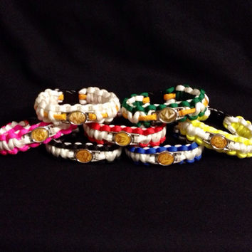 Mighty Morphin Power Rangers Paracord Bracelets