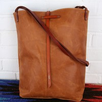Leather Tote Bag (Lined Interior)