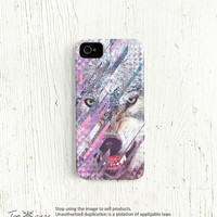Wolf iPhone 5 case, Wolf iphone 4 case 4s Galaxy iPhone 5 case Animal iPhone 4 case cell phone case triangle iPhone cases /c45
