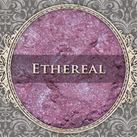 ETHEREAL Mineral Eyeshadow: 5g Sifter Jar, Lavender Pink with Violet Highlight, Iridescent Eyeshadow