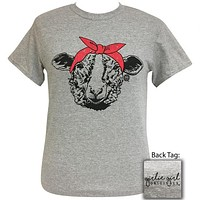 Girlie Girl Originals Preppy Bandana Sheep T-Shirt