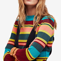 Free People Show Off Your Stripes Sweater | macys.com