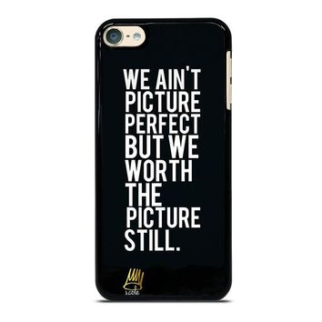 J COLE QUOTE iPod Touch 6 Case Cover
