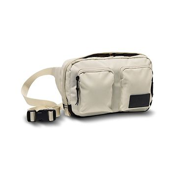 Kanga Fannypack in Vintage White Heather & Black Heather by The North Face