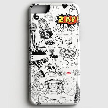1D Zayn Malik Tattoos iPhone 8 Case