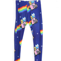 Nyan Kitty Adventure Leggings | fresh-tops.com