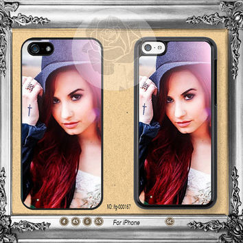 Demi lovato iPhone 5s case, iPhone 5C Case iPhone 5 case, iPhone 4 Case Disney iPhone case Phone case ifg-000167