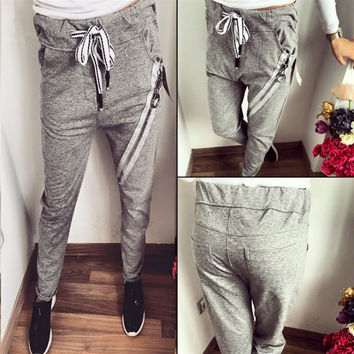 Grey Trousers