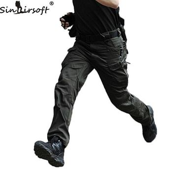 SINAIRSOFT IX7 Gear Cotton Military City Mens' Pants Pantalon homme Spring Army Trousers For Men Cargo Pants Army Work Trousers