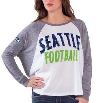 Women's Seattle Seahawks White Kickoff Long Sleeve T-Shirt