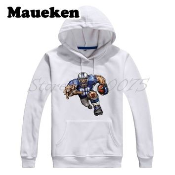 Men Hoodies Strong Trampling Titan Sweatshirts Hooded Thick for Tennessee fans gift Comic Cartoon Winter W17112907
