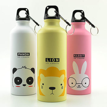 Large Capacity 500ml Sport Thermos Cup Aluminum Bottle Vacuum Flasks Thermos Garrafa Termica Infantil My Bottle Thermos