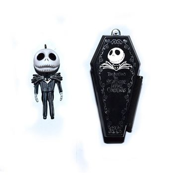 """Nightmare Before Christmas Jack With Coffin Key Ring Pendant 2"""" FREE SHIPPING GIFT TOY"""