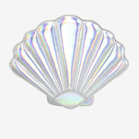 Hologram Seashell Bag - Silver