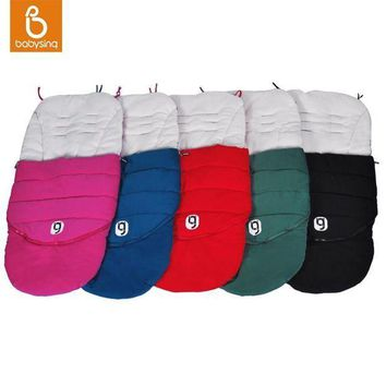 PEAPGC3 Anglebay Baby Stroller Sleep Sack Cotton Warm Sleeping Bag Winter Thick Footmuff Stroller Accessories