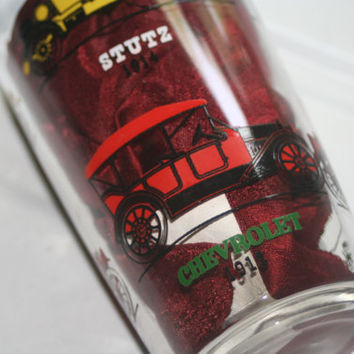 Vintage Automobile Glass,Anchor Hocking Glass