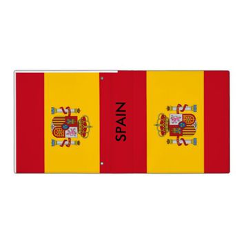 Binder with Flag of Spain