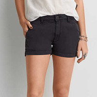AEO Soft Shortie, Washed Black