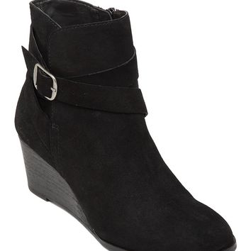 Lucky Brand Ginnie Wedge Bootie Womens
