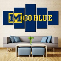 Michigan Wolverines Wall Art
