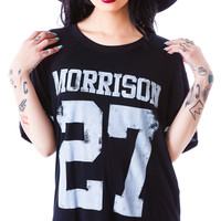 Ruby Starling Morrison 27 Tee Black
