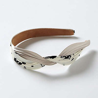 Anthropologie - Ruched & Knotted Headband