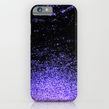 infinity in purple iPhone & iPod Case by Marianna Tankelevich