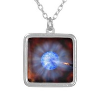 M33 Black hole in space Pendants