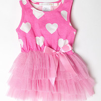 Designer Kidz Hot Pink Heart Tutu Dress - Infant & Toddler | zulily