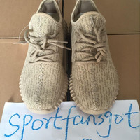 size 36-48 new 2017 version 350 oxford tan Boost Classic Running Women Men tan 350 Fashion Sneaker Shoes size With Box Free Shipping
