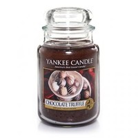 Chocolate Truffle : Large Jar Candle : Yankee Candle