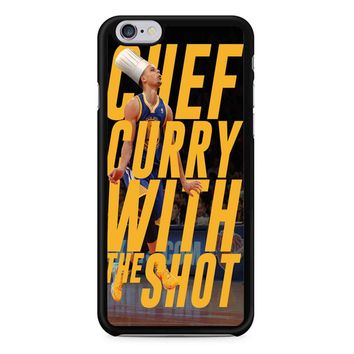 Stephen Curry Quote Poster iPhone 6/6s Case