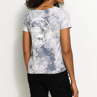 Vans Grey Ridge Skim Circle Palm T-Shirt