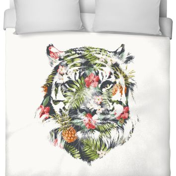 ROB Tropical Tiger Duvet Cover