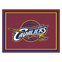 Cleveland Cavaliers NBA 8ft x10ft Area Rug