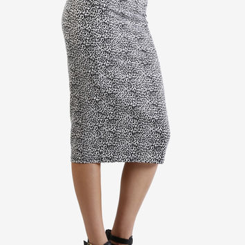 Bobbie Midi Skirt In Tiny Cheetah by Motel