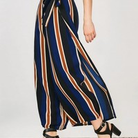 Striped Wide Leg Palazzo Pants