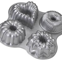 Nordic Ware Pro Cast Bundt Quartet Pan