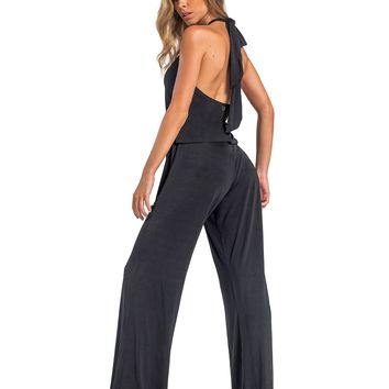 Minorca Black Rompers Cover-Up