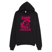 Ladies Urban Kush Queen Pullover Hoodie by Twisted420Glass Sizes Up To 2XL from T420G Urban Fashion & Design