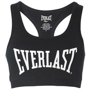 Everlast women's Y back Crop Sports Bra Top XS S M L XL 8 10 12 14 16 RRP$45