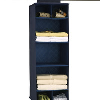SAPPHIRE CLOSET ORGANIZER WITH SHELVES AND CUBBIES