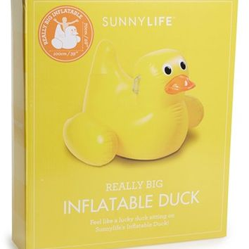 Sunnylife 'Really Big' Inflatable Duck Pool Toy - Yellow