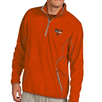 San Francisco Giants Antigua 2014 MLB World Series Bound Ice 1/4 Zip Jacket - Orange