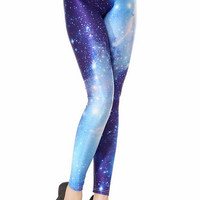 Starry Sky Print Leggings