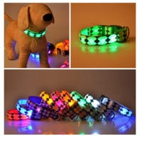 SAFETY DOG COLLARS LED