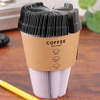 Coffee To Go Cup Notepad